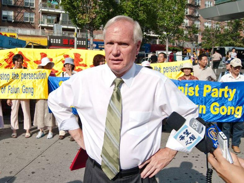 Bürgermeisterkandidat von New York lehnt Einladung nach China ab
