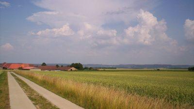 Auf dem Jakobsweg in Deutschland