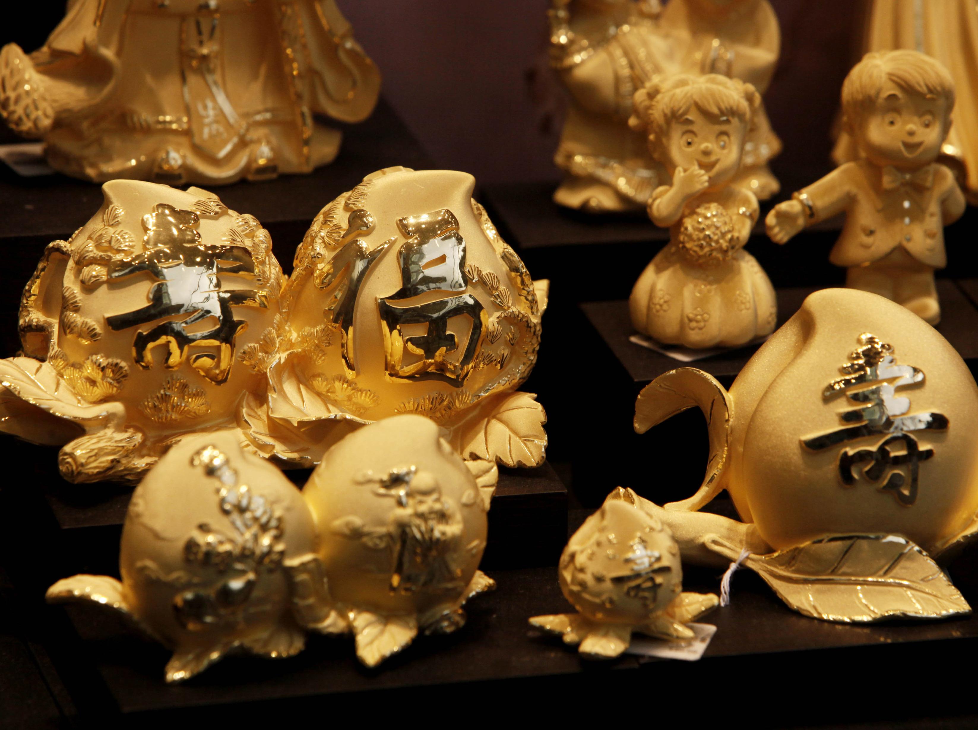 … oder Figuren aus Gold?
