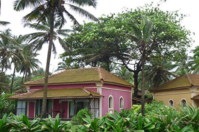 "Unterkunft im ""Taj Holiday Village"". (Bernd Kregel)"