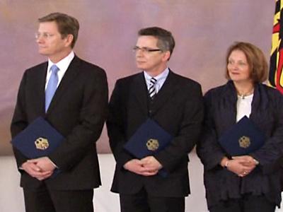 New German Cabinet Sworn In