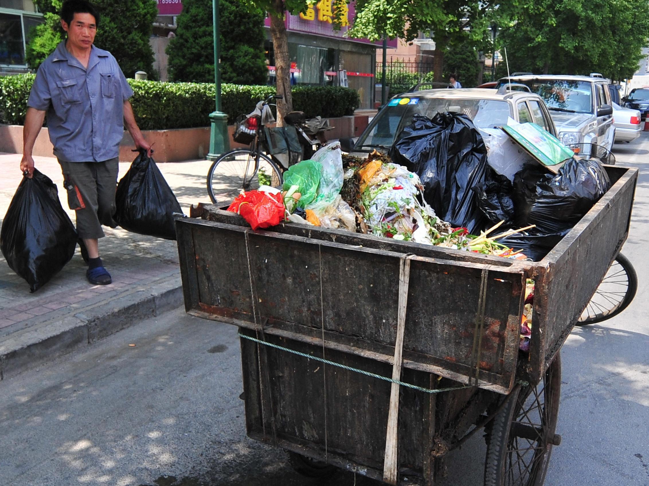 In Südchina protestieren Tausende gegen Müllverbrennungsanlagen
