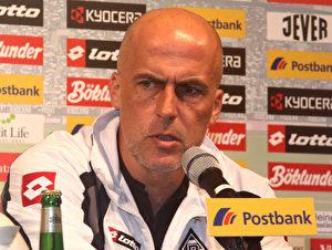 Michael Frontzeck, Trainer der Borussia. (Steffen Andritzke/The Epoch Times)