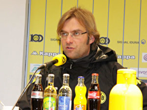 Jürgen Klopp, Trainer der Dortmunder.