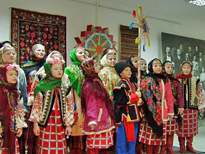 Traditional Carols Ring in the Ukrainian New Year