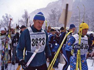 Tausende Langläufer beim König-Ludwig-Lauf.