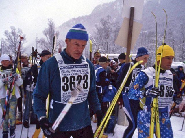 Tausende Langläufer beim König-Ludwig-Lauf. Foto: Elke Backert