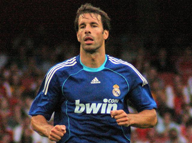 Ruud van Nistelrooy, hier noch im Trikot von Real Madrid.