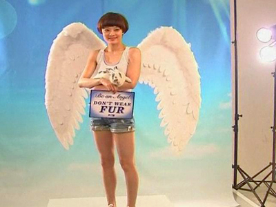 Chinese Star an Angel to Animals