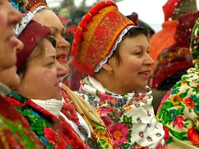 Ukrainians Celebrate Winter Carnival
