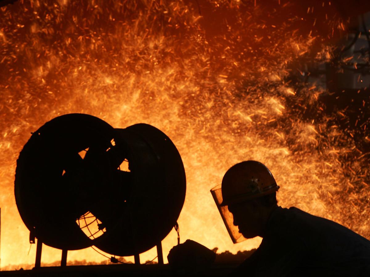 China: Hohe Lagerbestände an Stahl deuten auf Wirtschaftsrezession hin
