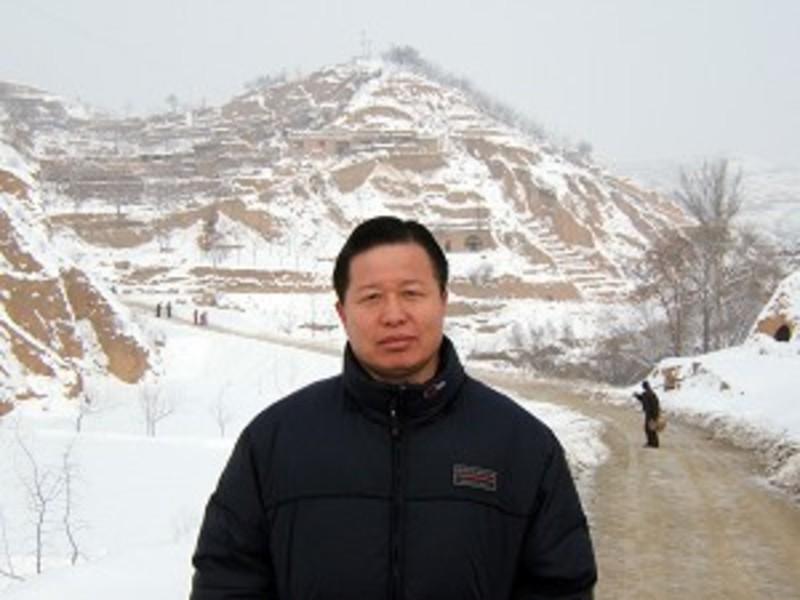 Menschenrechtsanwalt Gao Zhisheng in China am Telefon