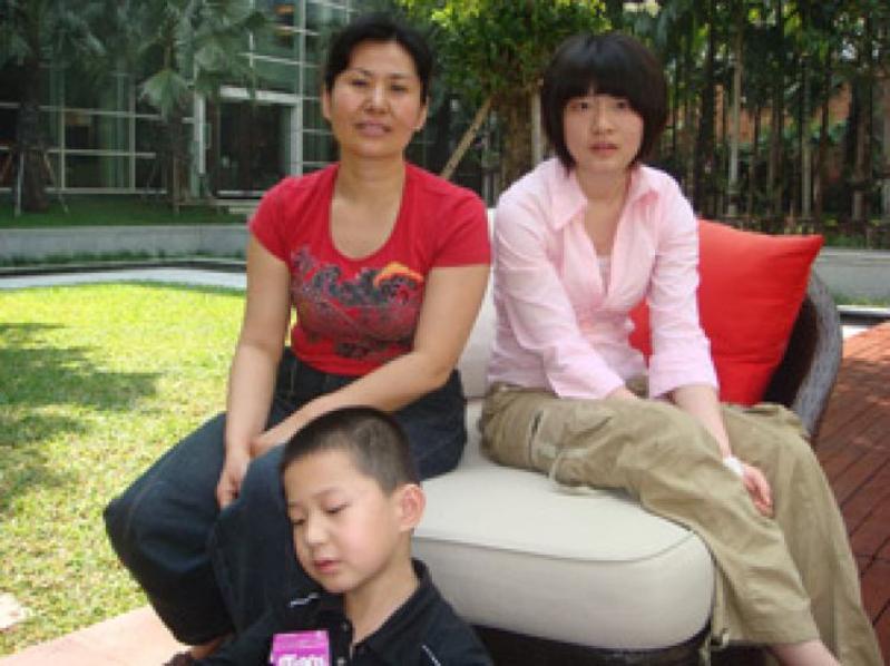 Gao Zhisheng telefonierte mit seinen Kindern