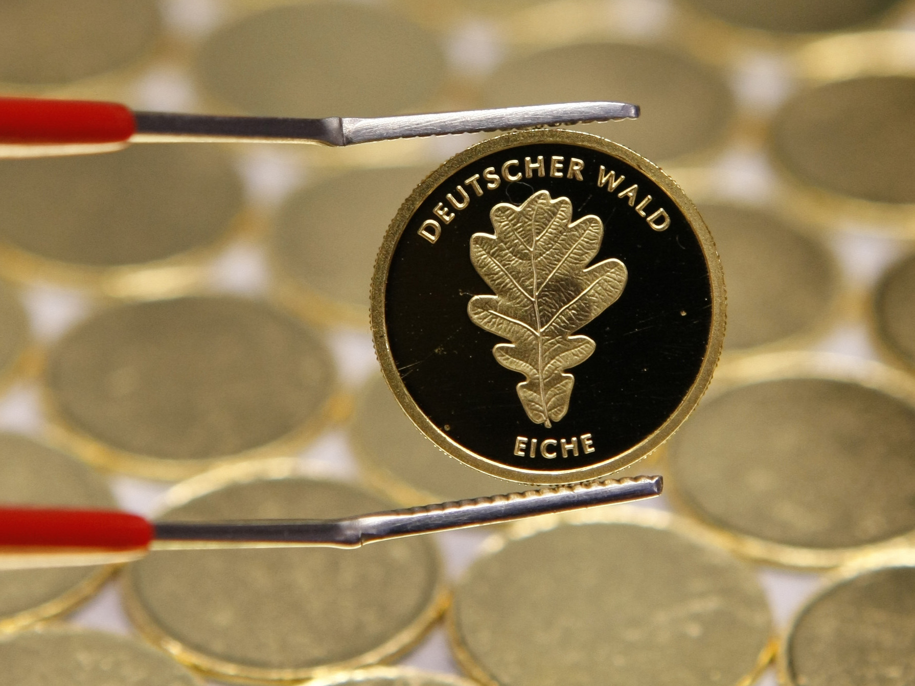 Kleinste Goldmünze der BRD