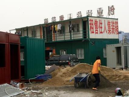 Wohnen Im Schiffscontainer schiffscontainer zum wohnen in südchina vermarktet