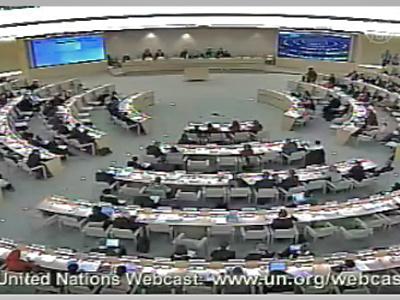 Aufrüttelnde Rede vor dem UN Menschenrechtsrat durch chinesische Delegation gestört