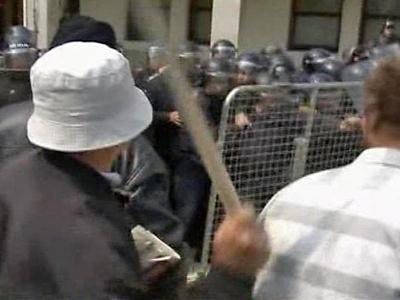 Bosnian War Vets Protest Benefits Cuts