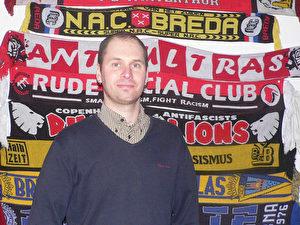 Fan-Vertreter Justus Peltzer spricht über die Vorfälle beim Rostockspiel.