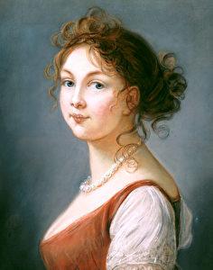 Gemälde von Luise der französischen Malerin Marie Louise Vigee-Lebrun.