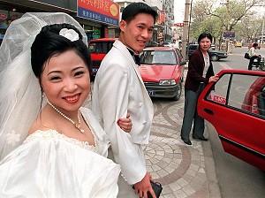 Kontrollwahn für Chinesen vor einer legalisierten Hochzeit