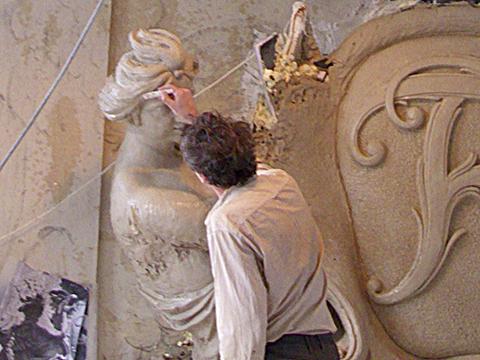 Mit Kolossalfiguren, Engeln und Adlern im Bunde für das Berliner Stadtschloss
