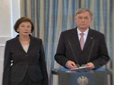 German President Shock Resignation