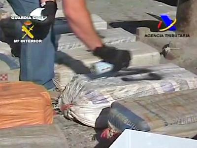 Huge Cocaine Haul By Spanish Police