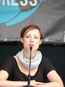 Die Leiterin des Europäischen Fankongresses, Dani Wurbs.