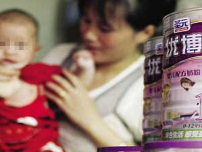 Chinese Baby Formula Blamed for Premature Breast Development