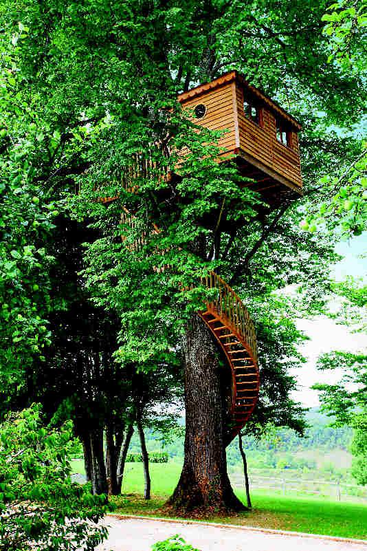 Baumhaus Frankreich dordogne x frankreich linde höhe 9 m aus traumhafte baumhäuser