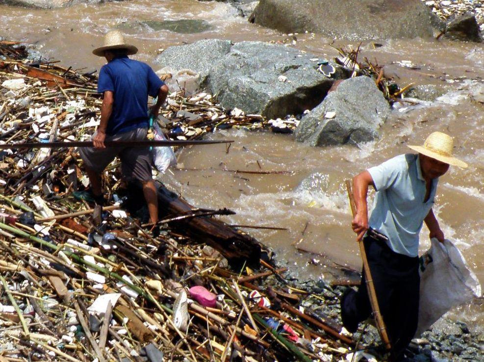 Greenpeace: 400 Millionen Chinesen gefährdet durch Jangtse
