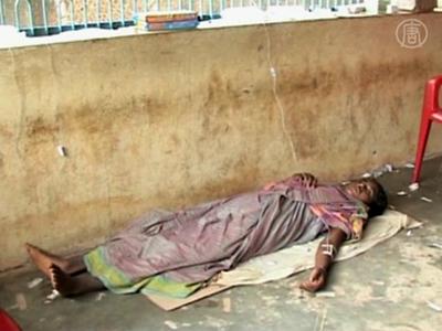 Ausbruch der Cholera betrifft den ostindischen Staat