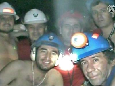 Rettungsbohrer erreicht eingeschlossene Minenarbeiter