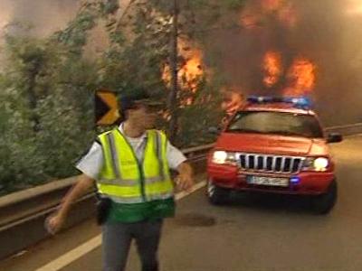 Wildfires Still Plague Portugal