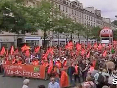 France: Millions Demonstrate Against Planned Retirement Age Rise