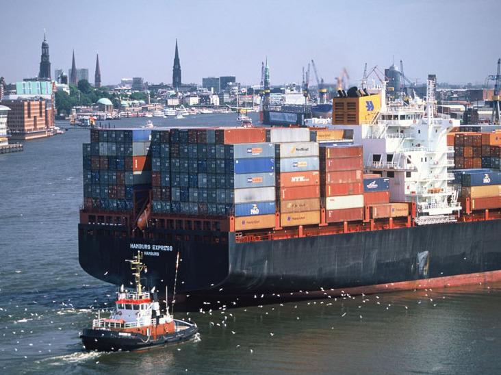 Deutsche Häfen verzeichnen steigende Mengen an Seefracht