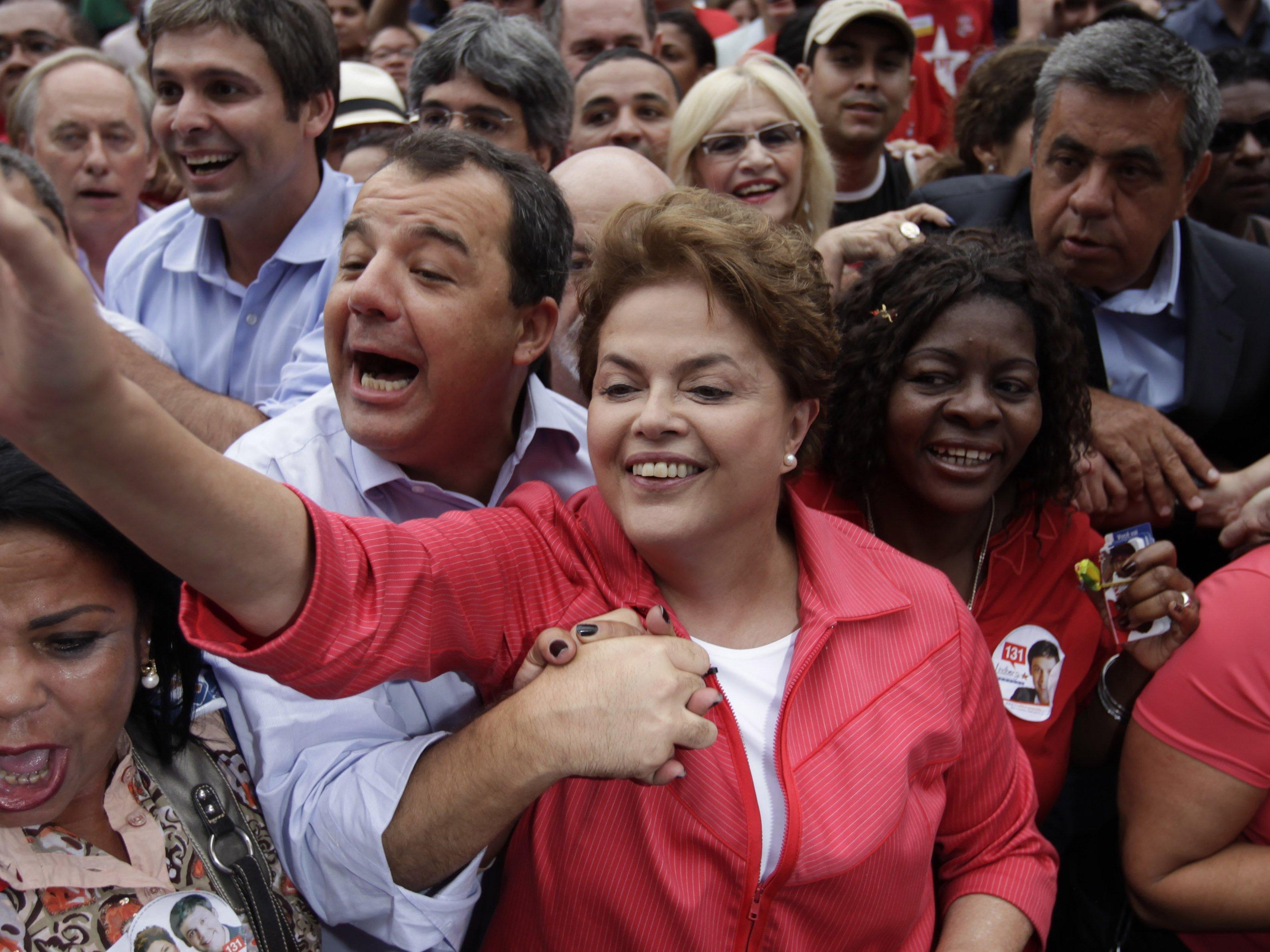 Keine absolute Mehrheit für Rousseff bei Präsidentschaftswahl