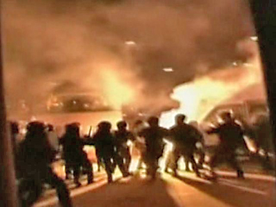 Italians Outraged by Soccer Violence