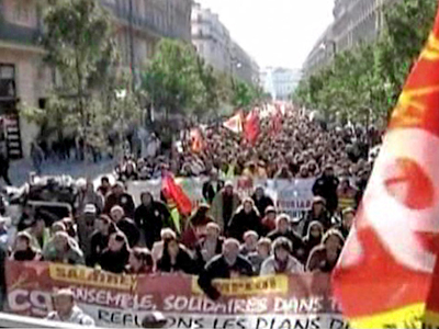 Ongoing Strikes Challenge Sarkozy's Pension Reform in France