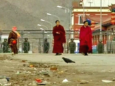 Tibetans Protest against Chinese Regime Hosting Asian Games