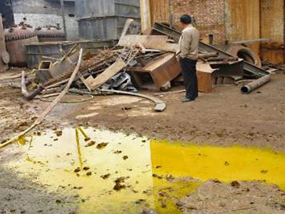6-Million Tons of Chemical Waste Stockpiled Across China