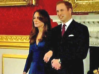 Prince William and Bride-to-Be Meet the Press