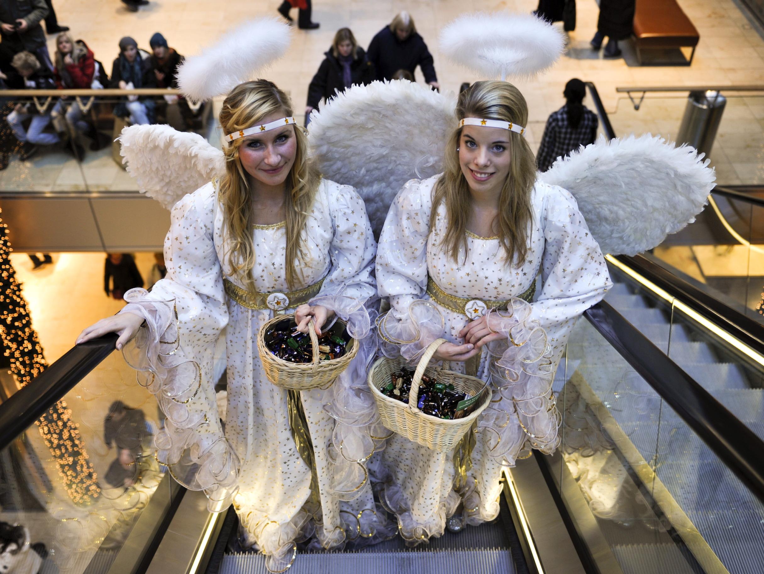Zwei Engel …