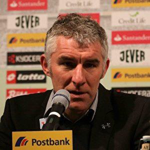 Mirko Slomka, Trainer von Hannover 96. Foto: Steffen Andritzke/The Epoch Times