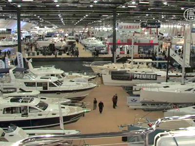 Londoner Bootsschau: Super Yacht bricht alle Rekorde
