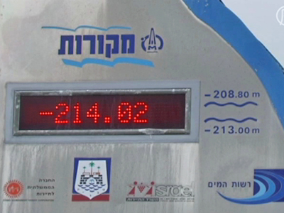 Israel: Sorgen um See Genezareth