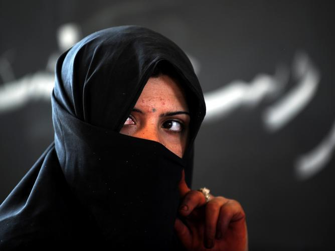 Die afghanischen Frauen rufen verzweifelt um Hilfe