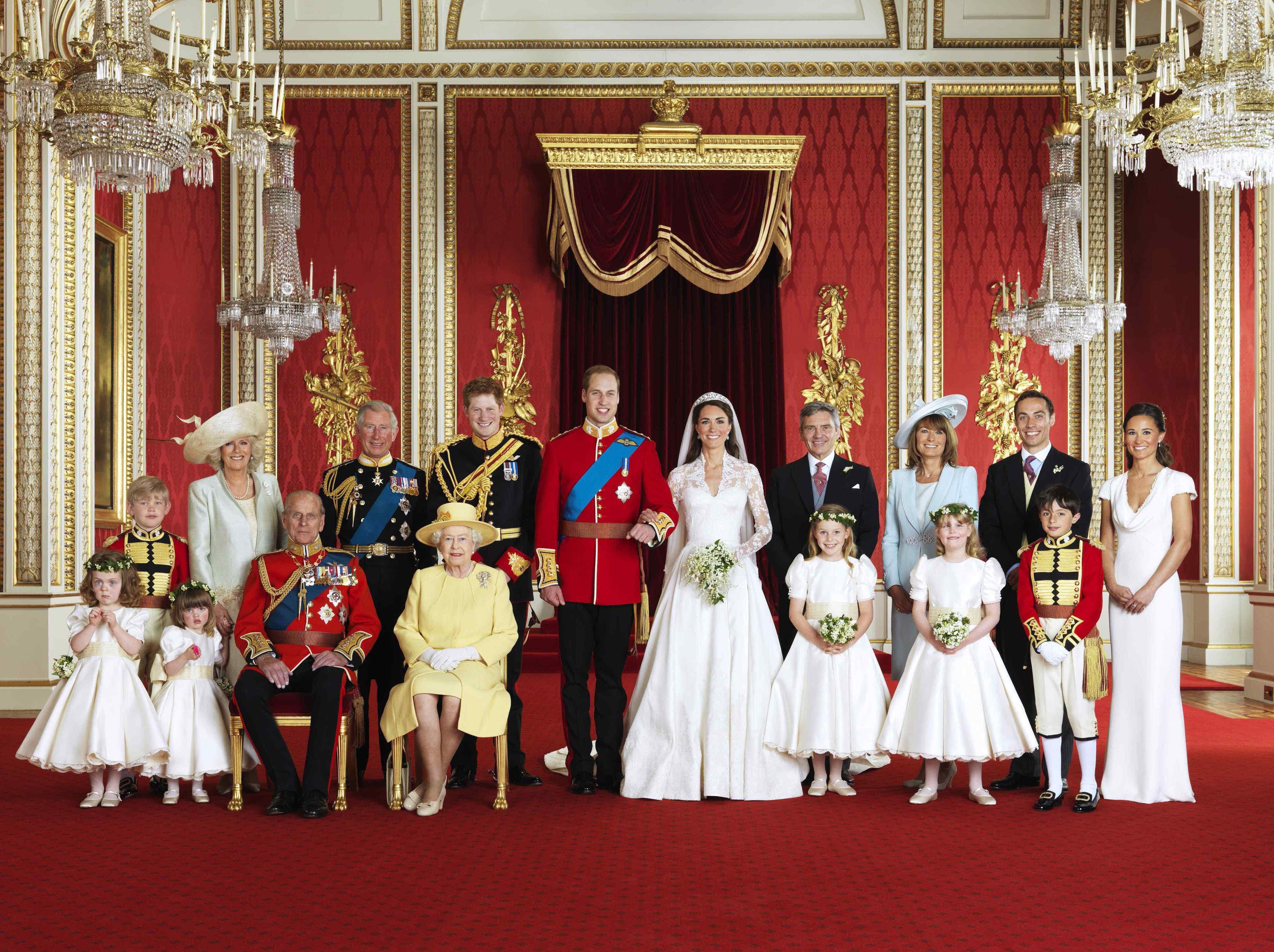 Königliches Gruppenfoto