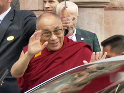 The Dalai Lama Tours Sweden