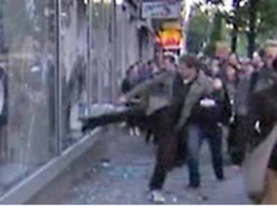 May Day Turns Violent in Berlin